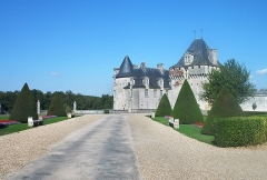 Château de la Rochecourbon -  Photographer: User:Ballista