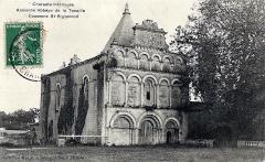 Ancienne abbaye de la Tenaille - Français:   ancienne carte postale 1900 abbaye de la tenaille