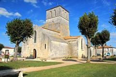 Eglise Saint-Saturnin - Deutsch: Pfarrkirche Saint-Sornin, Ansicht von S-W