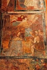 Eglise Saint-Saturnin - Deutsch: Pfarrkirche Saint-Sornin, Fresko im Chor