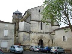 Eglise Saint-Pallais -  Église Saint-Pallais, Saintes, Charente-Maritime, France