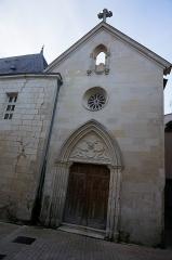 Ancien couvent des Jacobins et ancienne maison de Maurice Martineau, actuellement bibliothèque municipale - Français:   Vue de l\' Ancien couvent des Jacobins de Saintes, la chapelle dite de l\'étoile.