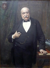 Maison dite du Présidial - Français:   Anatole Lemercier, portrait par Jules Aviat