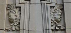 Maison dite du Présidial - Français:   vue de la façade de l\'Hôtel_dit_du_présidial recomposition des bords de fenêtre.