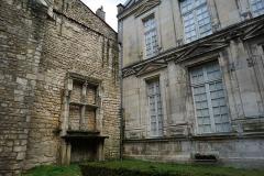 Maison dite du Présidial - Français:   vue de deux façades du présidial.