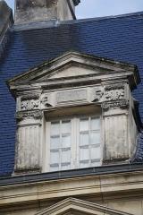 Maison dite du Présidial - Français:   vue d\'un détail de  la façade de l\'Hôtel_dit_du_présidial une fenêtre.