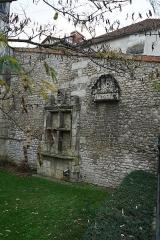 Maison dite du Présidial - Français:   façade rue André Lemoine à Saintes, France.