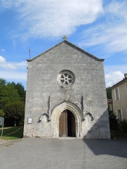 Eglise Saint-Pierre - English: Salignac-de-Mirambeau, Église Saint-Pierre, west facade
