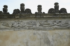 Ancienne seigneurie des Rohan - Deutsch: Hôtel des Rohan in Soubise im Département Charente-Maritime (Nouvelle-Aquitaine/Frankreich), heute Hôtel de ville (Rathaus)