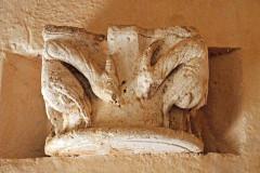 Ruines de l'ancienne abbaye - Deutsch: Abtei Trizay, Kapitell