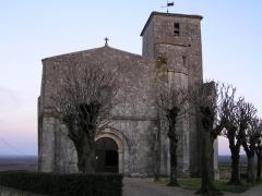Eglise Saint-Victorin ou Saint-Victorinien -  église de Villars les Bois