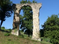 Aqueduc gallo-romain de Saintes - Français:   Vestiges de l\'aqueduc romain de Saintes, Fontcouverte, Charente-Maritime, France