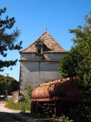Domaine de Beaulieu - Français:   Pigeonnier du logis de Beaulieu à Germignac, en Charente-Maritime, daté de 1595.