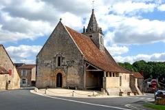 Eglise Notre-Dame - Deutsch: Angigny, Notre-Dame, von SW
