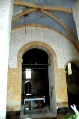 Eglise Notre-Dame - Deutsch: Kirche, aus Chor zum Schiff