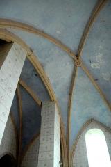 Eglise Notre-Dame - Deutsch: Kirche, Chor,Gewölbe Joch 2