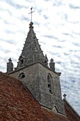 Eglise Notre-Dame - Deutsch: Kirche, Glockenturm von SW