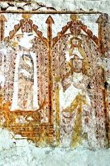 Eglise Notre-Dame - Deutsch: Angigny, Notre-Dame, Fresko