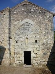 Abbaye de l'Etoile - Deutsch: Kloster L'Étoile, Kapelle am ehem. südlichen Querhausarm
