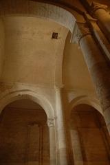 Eglise Notre-Dame - Deutsch:   Château-Larcher, Mittelschiffgewölbe