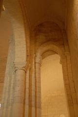 Eglise Notre-Dame - Deutsch:   Château-Larcher, südl. Seitenschiff, Durchblick in Joch 3