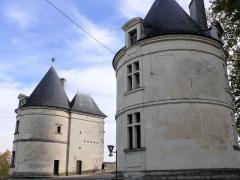 Pont Henri IV - Français:   Châtellerault - Pont Henri IV - Tours situées à l\'entrée du pont en rive gauche