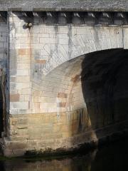 Pont Henri IV - Français:   Châtellerault - Pont Henri IV - Corne de vache