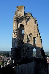 Château baronial ou des Evêques de Poitiers - Deutsch: Chât.Baronnial, Chât.Neuf