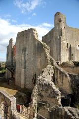 Château baronial ou des Evêques de Poitiers - Deutsch: Château Baronnial in Chauvigny