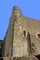 Château baronial ou des Evêques de Poitiers - Deutsch: Chât.Baronnial, Donjon Ecke