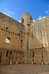 Château baronial ou des Evêques de Poitiers - Deutsch: Chât.Baronnial,Donjon, Inneres