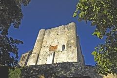 Donjon de Gouzon -  Chateau de Gouzon, Donjon
