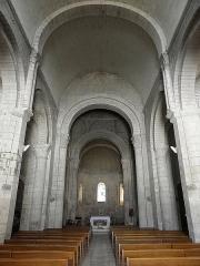 Eglise Notre-Dame - Français:   Vue intérieure de l\'église Notre-Dame de Chauvigny (86).