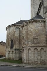 Eglise Notre-Dame - Deutsch: Katholische Pfarrkirche Notre-Dame in Chauvigny im Département Vienne (Nouvelle-Aquitaine/Frankreich), Apsis