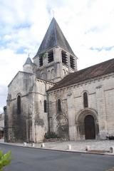 Eglise Notre-Dame - Deutsch: Chauvigny, Pfarrkirche, von NW