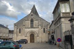 Eglise Notre-Dame - Deutsch: Chauvigny, Pfarrkirche, Fassade