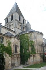 Eglise Notre-Dame - Deutsch:   Chauvigny, Pfarrkirtched, Chorhaupt von SO