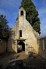 Cimetière gallo-romain - Deutsch: Civaux, Friedhofskapelle