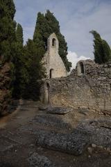Cimetière gallo-romain - Deutsch: Civaux, Nekropole, Kapelle Ste.-Catherine