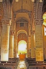 Eglise Saint-Gervais Saint-Protais - Deutsch: Civaux, Dorfkirche Mittelschiff