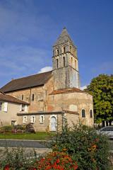 Eglise Saint-Gervais Saint-Protais - Deutsch: Civaux, Dorfkirche