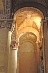 Eglise Saint-Gervais Saint-Protais - Deutsch: Civaux, Kirche, Seitenschiff rechts