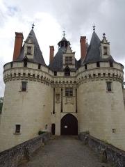Château de Dissay - English: Chateau de Dissay, main gate