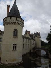 Château de Dissay - English: Chateau de Dissay, moat