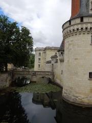 Château de Dissay - Deutsch: Chateau de Dissay, Wassergraben