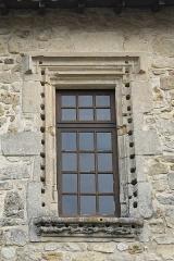 Ancien logis abbatial - Deutsch: Ehemalige Augustiner-Abtei in Fontaine-le-Comte im Département Vienne (Nouvelle-Aquitaine/Frankreich)