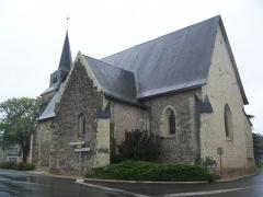 Eglise Saint-Rémy - English: Liste des monuments historiques de la Vienne (A-L)