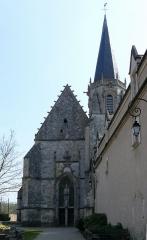 Ancienne abbaye Saint-Martin -  église de Ligugé