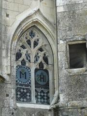 Couvent des Carmes - Français:   Baie gothique, église Saint-Hilaire du Martray, Loudun, Vienne, France
