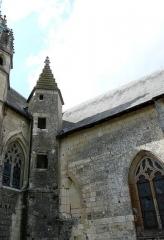 Couvent des Carmes - Français:   Église Saint-Hilaire du Martray, Loudun, Vienne, France
